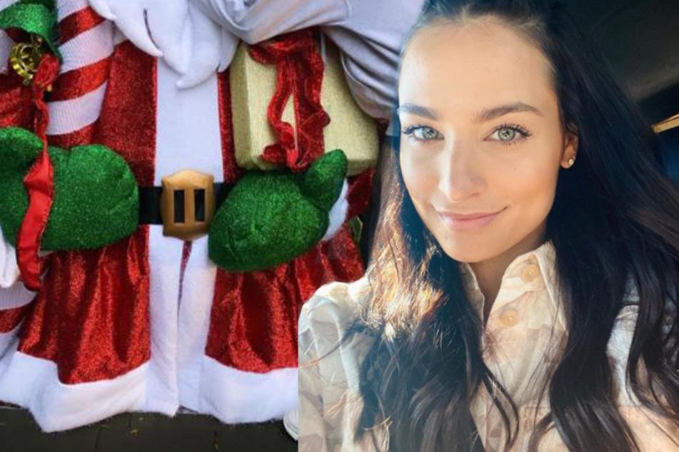 Gigantische Deko! Amira Pocher ist schon im Weihnachts-Fieber