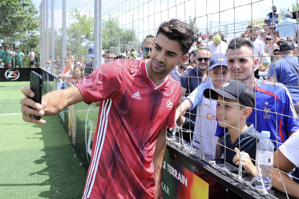 Dürfen sich die Fans im Erzgebirge bald auf ein Selfie mit Enzo Zidane freuen?