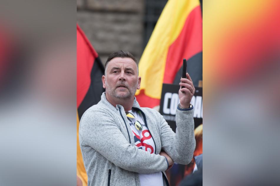 Amtlich: Pegida-Chef Lutz Bachmann (47) ist ein Rechtsextremist, so der Verfassungsschutz.