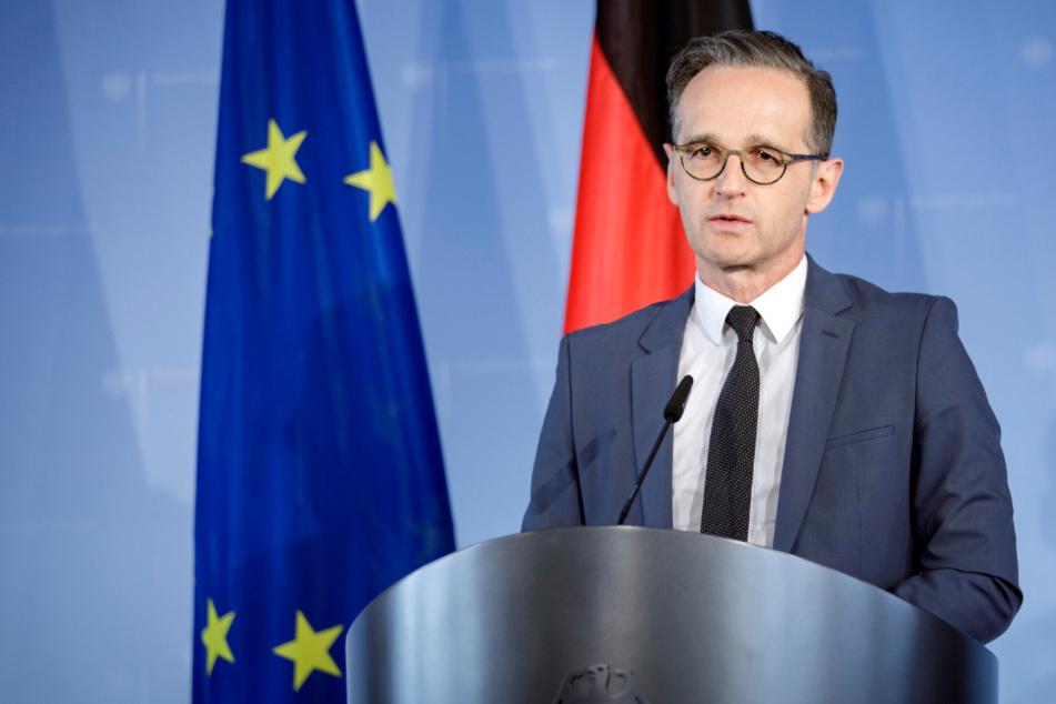 Außenminister Heiko Maas (53, SPD).