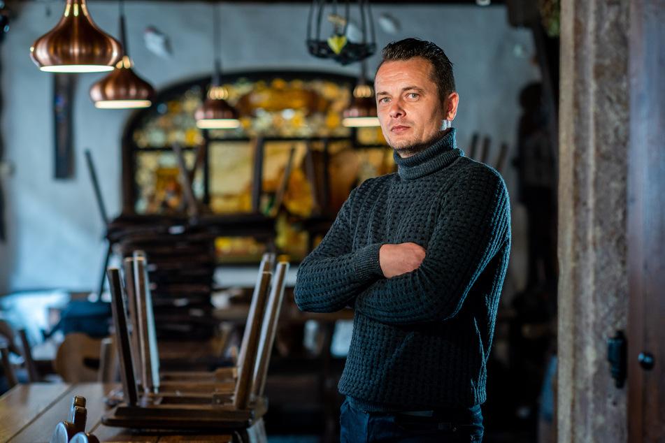 Tobias Gust (42), Restaurantchef im Kellerhaus am Schloßberg.