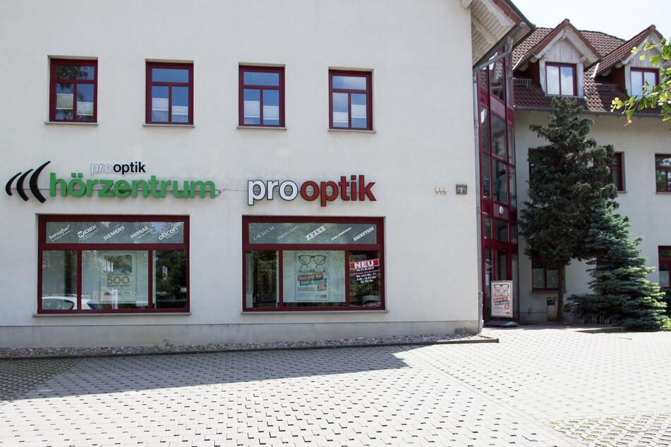 Pro Optik Bad Langensalza auf der Puschkinstraße 2b.