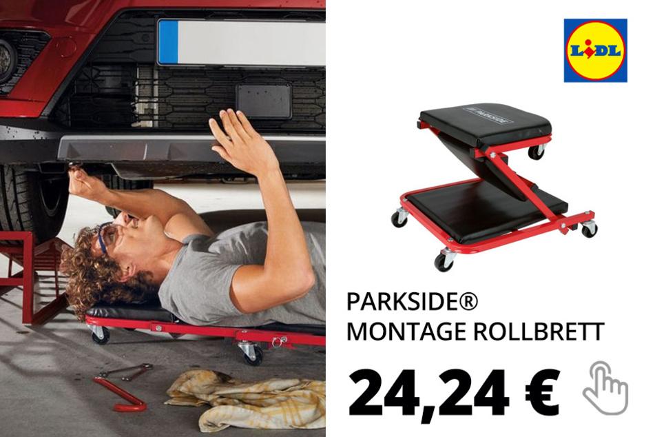 PARKSIDE® Montage Rollbrett / Werkstatthocker »PRW 2 A1«