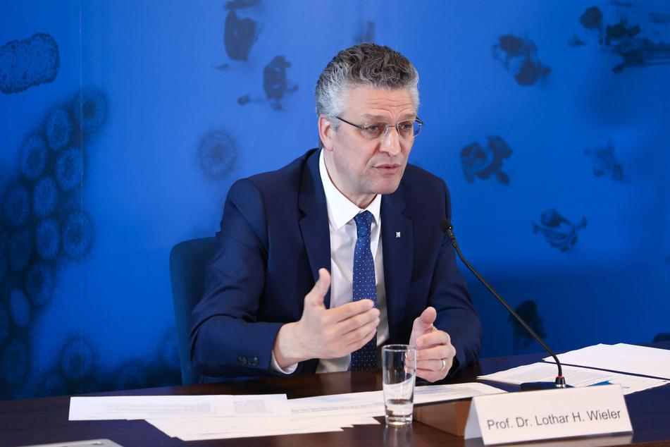 Lothar Wieler, Präsident des Robert-Koch-Instituts, sprach am Vormittag noch vom Wert 1.