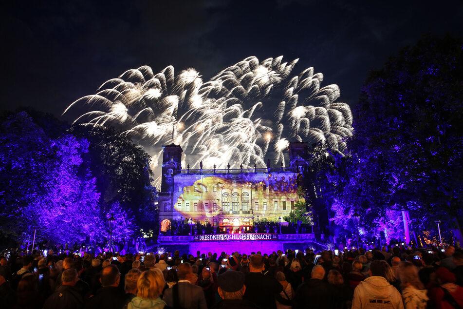 Großes Feuerwerk bei der Schlössernacht. Das wird es dieses Jahr nicht geben.