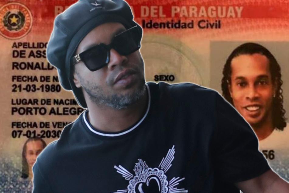 Fußball-Legende Ronaldinho festgenommen