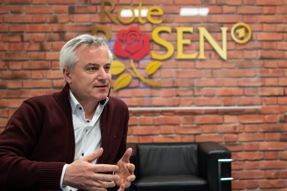 """Jan Diepers arbeitet seit August als Produzent für die Telenovela """"Rote Rosen""""."""