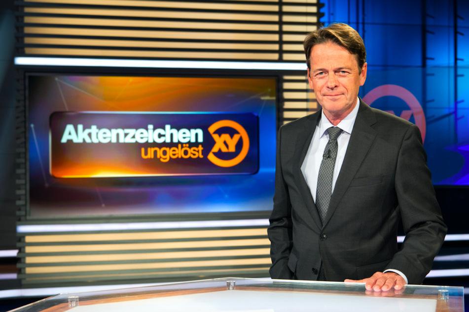 """ZDF-Moderator Rudi Cerne (62) stellte den Fall in der Sendung """"Aktenzeichen XY ... ungelöst"""" vor."""