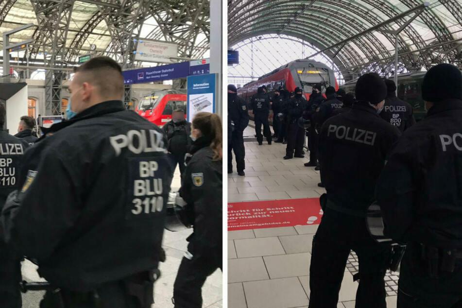 22-Jährige weigert sich, Zug zu verlassen: Viel Arbeit für Bundespolizei am Hauptbahnhof