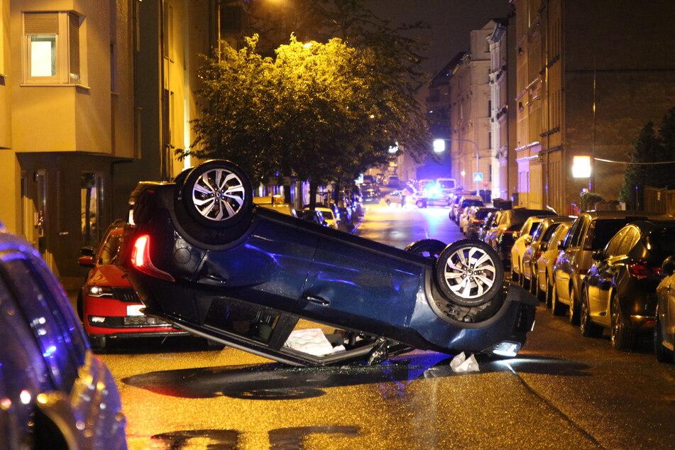 Eine 72 Jahre alte Frau wurde bei einem Unfall in Leipzig schwer verletzt.