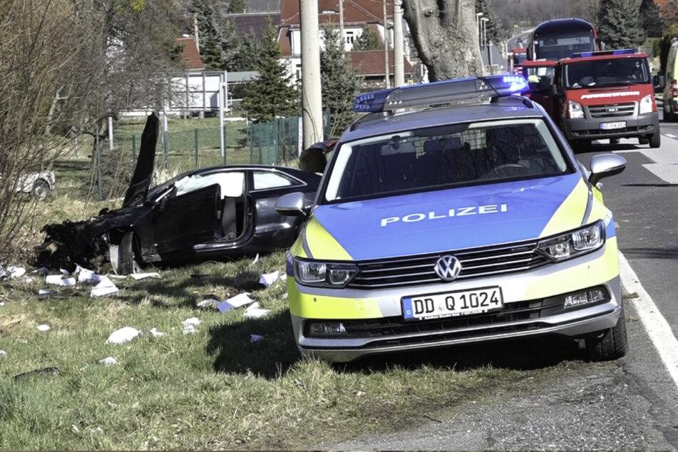 Vor dem Unfall Oma überfallen: Raser vom Bahnübergang ist ein Friedhofs-Räuber