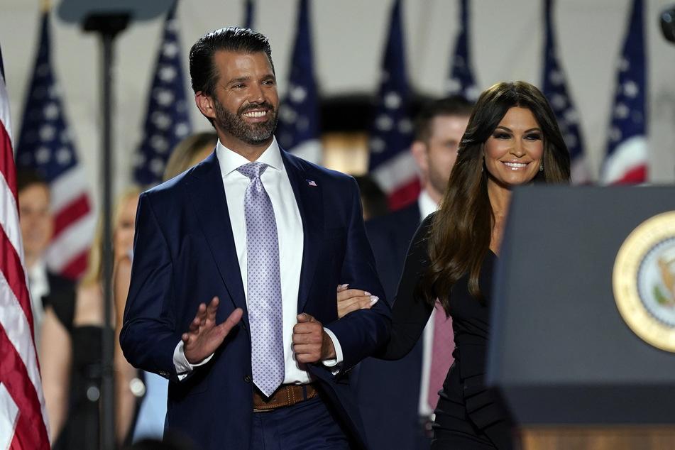 Seit drei Jahren ein Paar: Donald Trump Jr. (47) und Kimberly Guilfoyle.