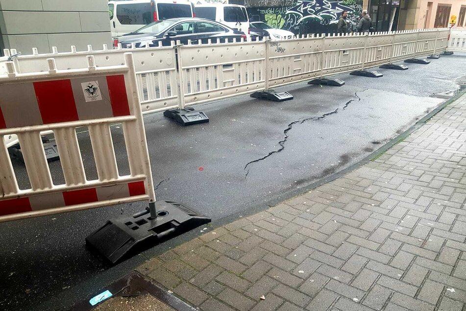 Nächste Straße in Köln abgesackt, Demo auf autofreier Inneren Kanalstraße geplant