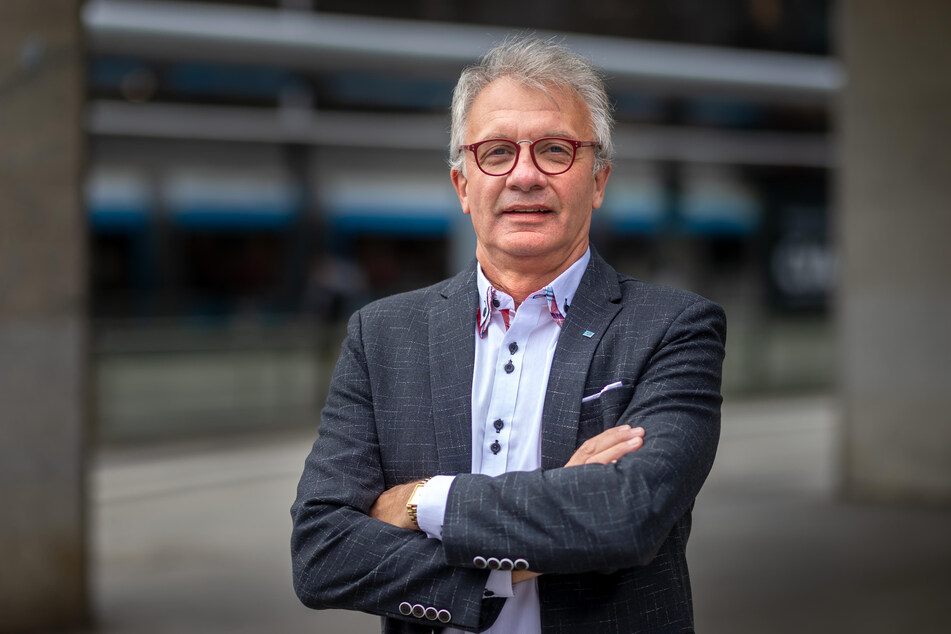 AfD-Stadtrat Steffen Wegert (64) kann die Einschätzung des Tiefbauamts nicht nachvollziehen.