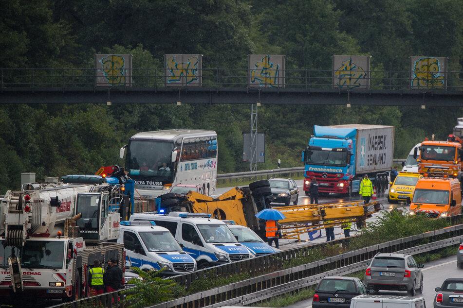 Unfall Frankfurt Autobahn