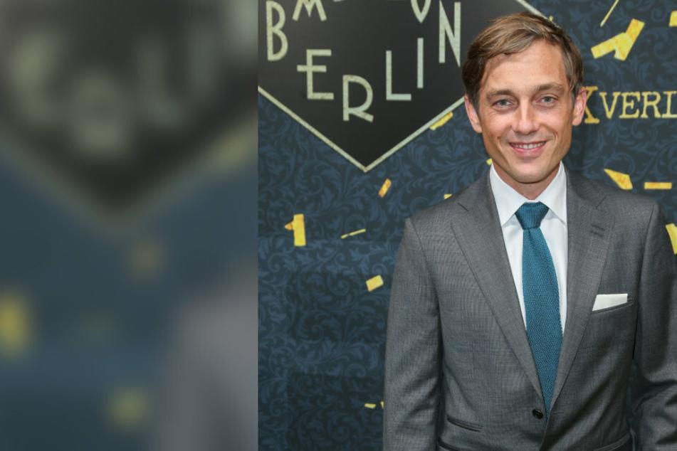 """""""Babylon Berlin""""-Star Volker Bruch sammelt erneut Geld für Flüchtlinge aus Flammenhölle von Moria"""