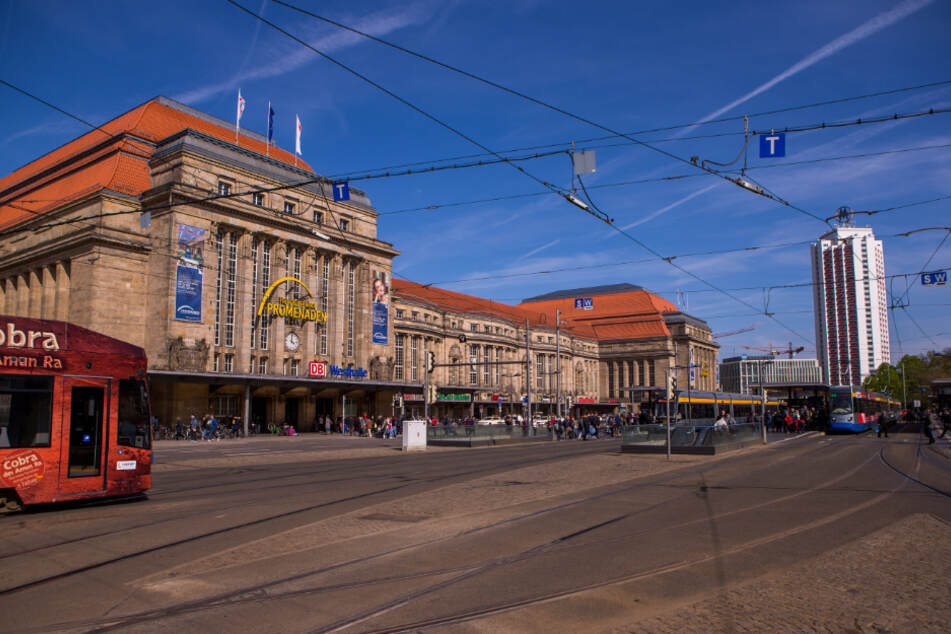 In der Nähe des Leipziger Hauptbahnhofs kam es in der Nacht zu Mittwoch zu einer Attacke auf einen 29-jährigen Libyer. (Archivbild)