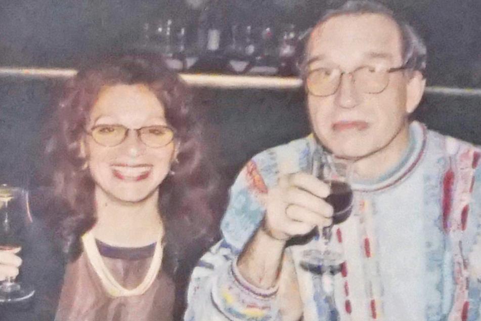 Dieses Foto zeigt das ermordete Ehepaar, Zohre Lange und Dr. Claus Lange aus Rödermark bei Offenbach.