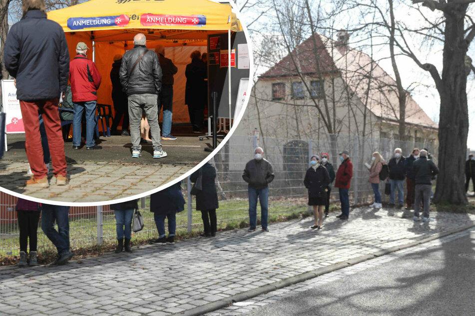 Ab heute kostenlose Schnelltests in Dresden: Riesiger Andrang beim Testcenter!