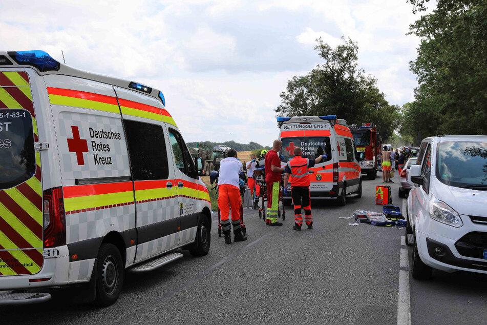 Überholvorgang missglückt! Fünf Verletzte, darunter drei Kinder
