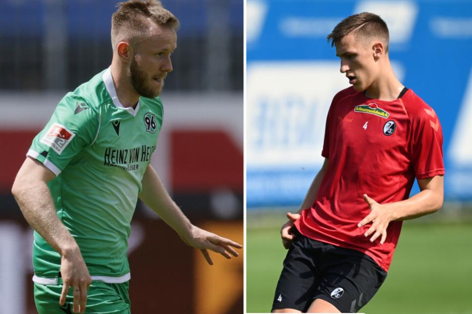 Cedric Teuchert (23, l.) und Nico Schlotterbeck (20, r.) verstärken offenbar Union.
