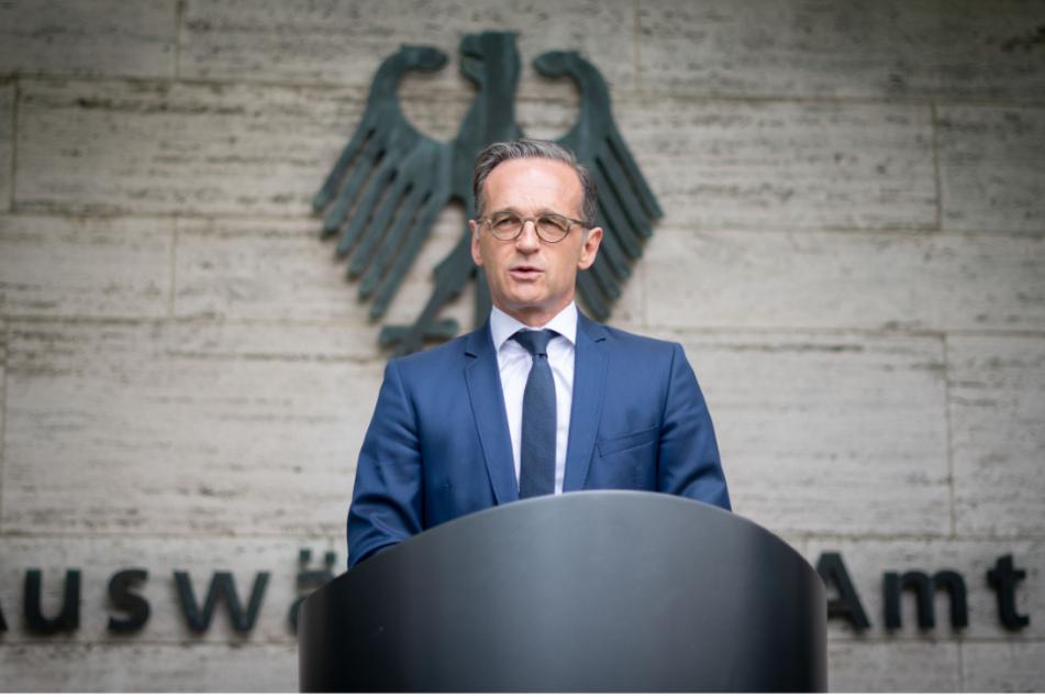 Bundesaußenminister Heiko Maas (53, SPD).