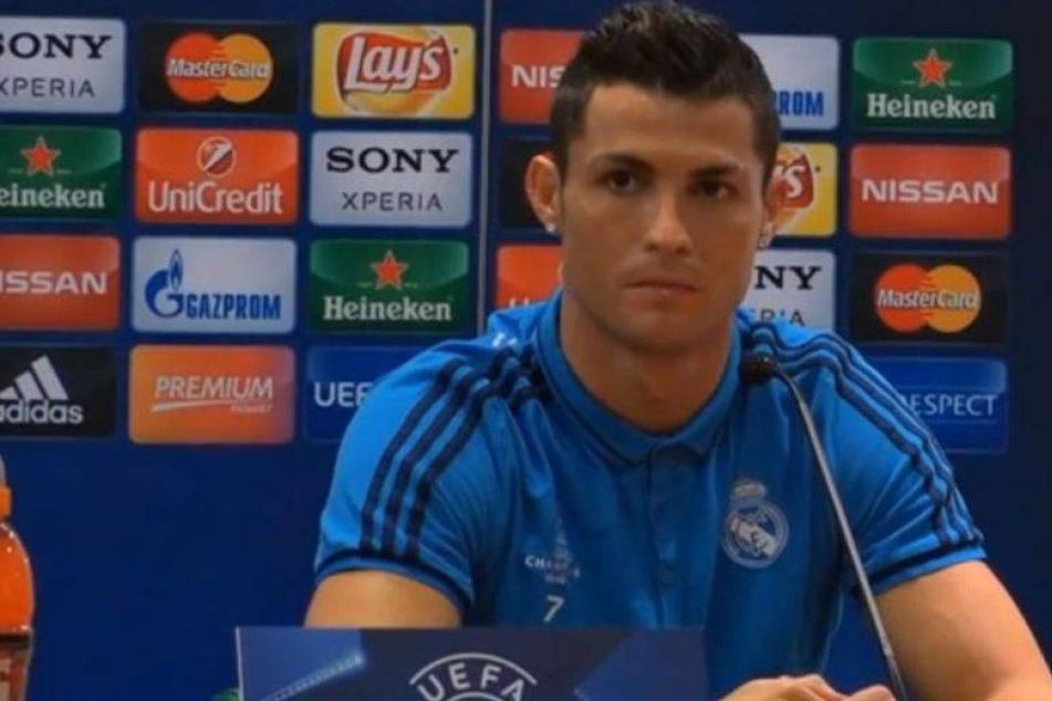Cristiano Ronaldo bricht genervt Pressekonferenz ab