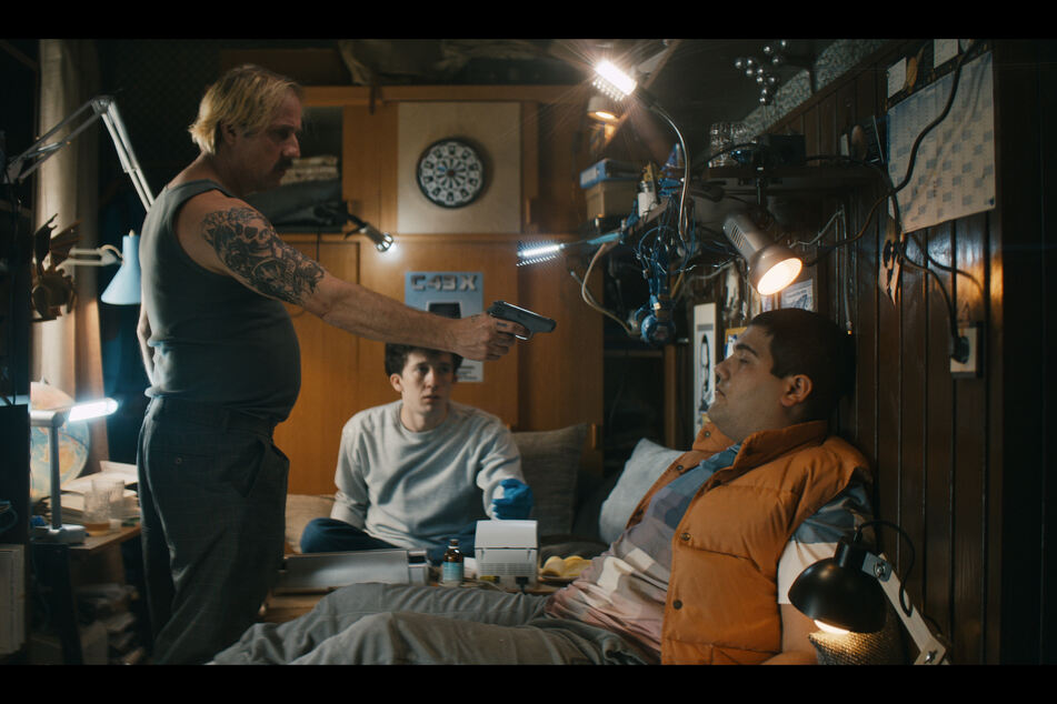 """Szene der ersten Staffel der erfolgreichen deutschen Netflix-Serie «How to Sell Drugs Online (Fast)"""""""
