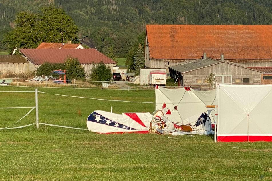 Pilot stirbt bei tragischem Flugzeugabsturz