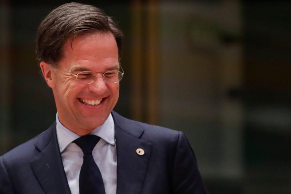Mark Rutte, Premierminister von den Niederlanden.