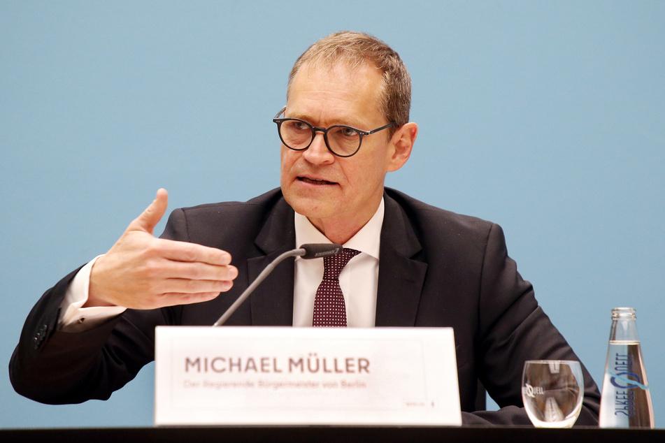 Michael Müller (56, SPD) ist sowohl Berlins Regierender Bürgermeister als auch der Vorsitzende der Ministerpräsidentenkonferenz (MPK).