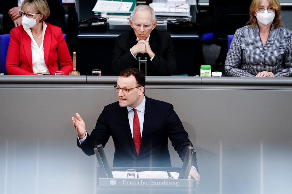 """Bundesgesundheitsminister Jens Spahn (40, CDU) bittet seine Kollegen: """"Wenn wir Leid vermeiden können, sollten wir es vermeiden."""""""