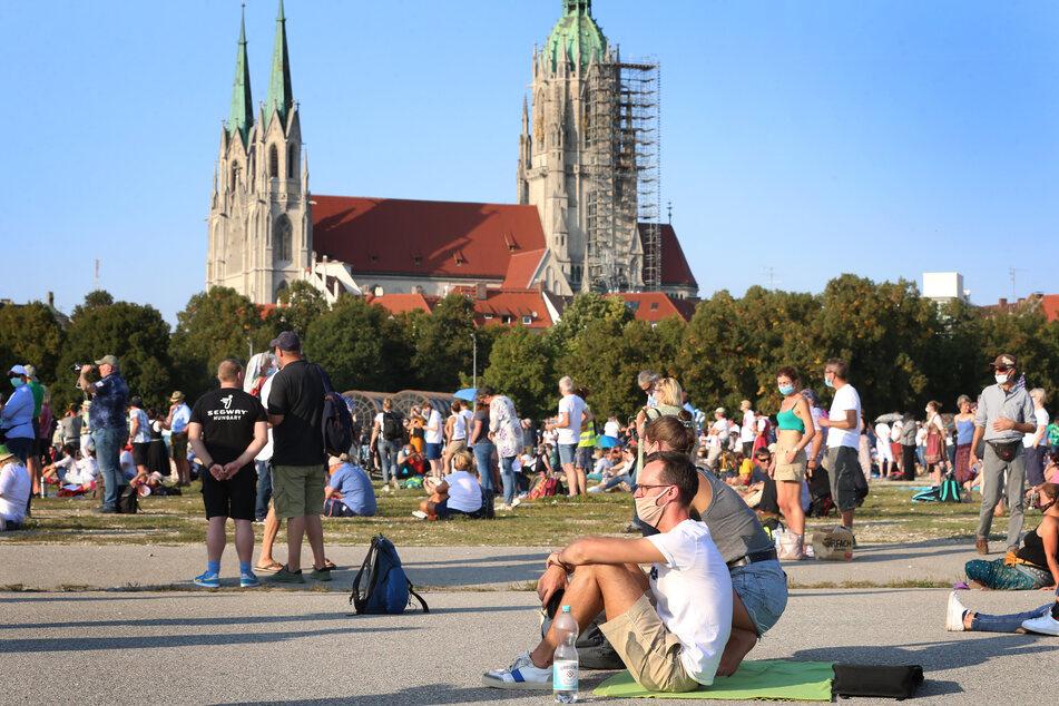 Am Sonntag darf in München wieder gegen die Corona-Maßnahmen demonstriert werden.