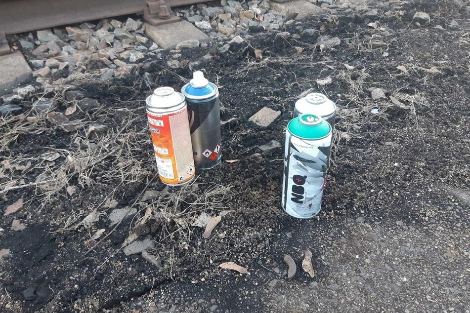 Chemnitz: Chemnitz: Graffiti-Sprayer von Polizei auf frischer Tat ertappt