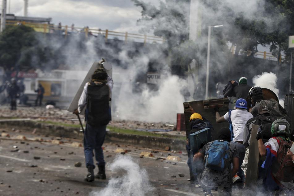 """""""Sie schießen auf den Kopf"""": Proteste und Gewalt halten an in Kolumbien"""