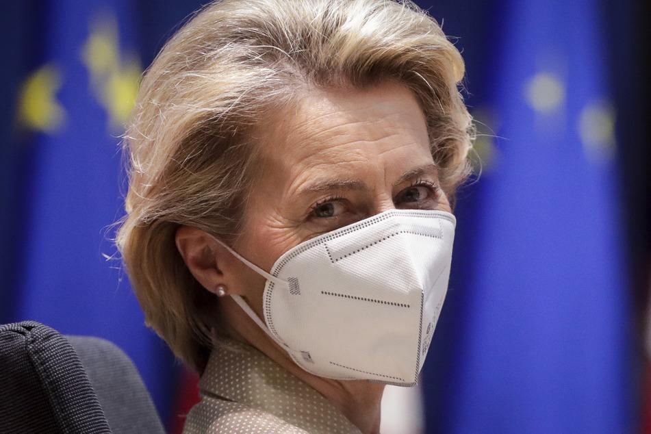 Ursula von der Leyen (62), EU-Kommissionschefin, verschärft die Tonlage gegenüber dem Pharmaunternehmen Astrazeneca.