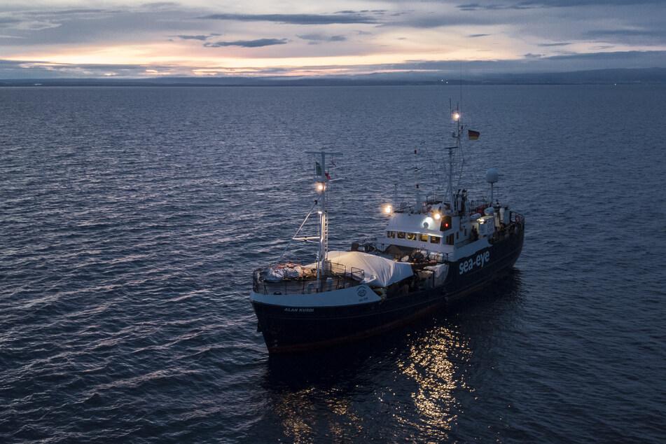 """Das deutsche Rettungsschiff """"Alan Kurdi""""."""