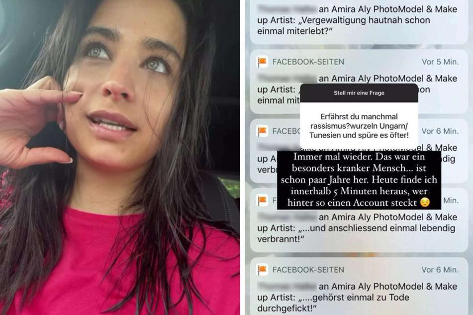 Amira Pocher (28) offenbarte in ihrer Instagram-Story, dass sie bereits des Öfteren Opfer von rassistischen Angriffen geworden ist.