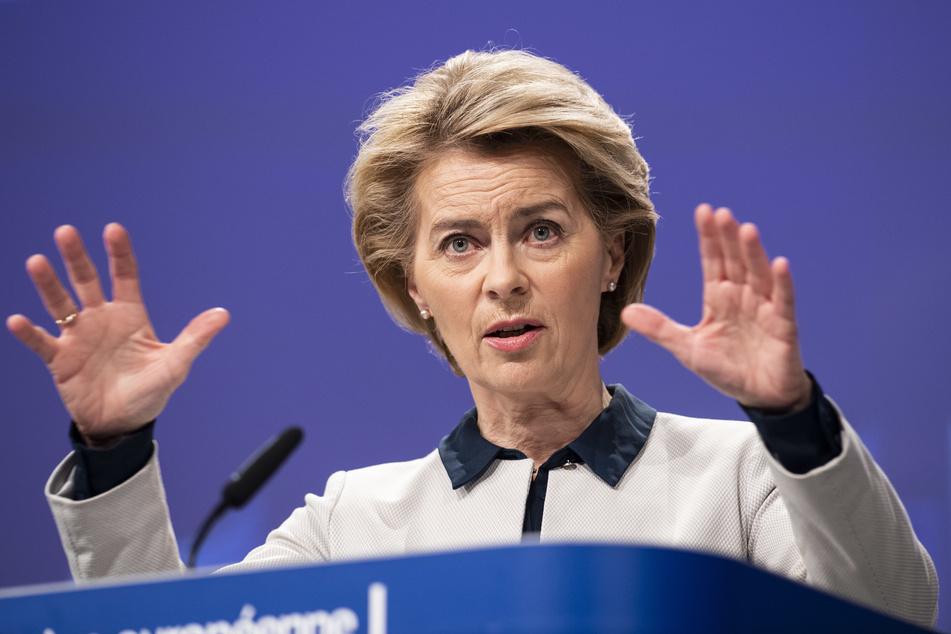 EU-Kommissionspräsidentin Ursula von der Leyen (62) wird von der Chemnitzer Carlowitz-Gesellschaft ausgezeichnet.