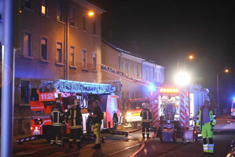An der Tauchaer Straße im Leipziger Ortsteil Thekla ist es in der Nacht zu Montag zu einem Brand gekommen.