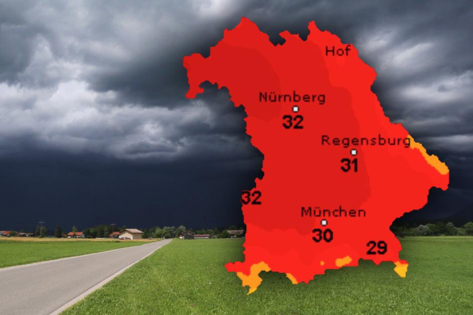 München: Hitze und Gewitter! So wird das Wetter im Freistaat Bayern