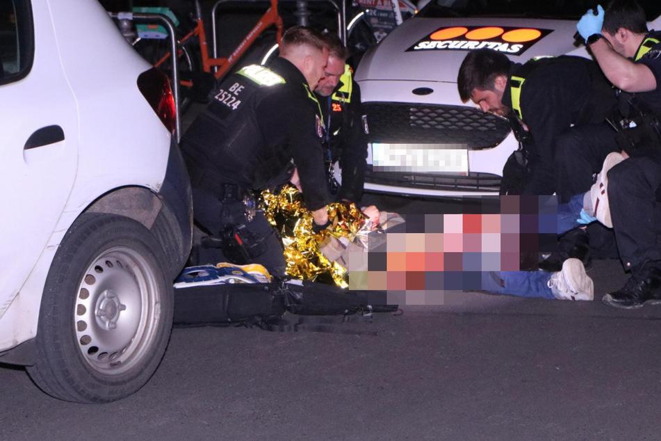 Ein Mann wurde dabei schwer verletzt.