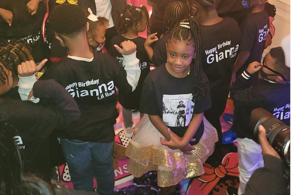 Rapper Lil Baby had a big surprise for George Floyd's daughter