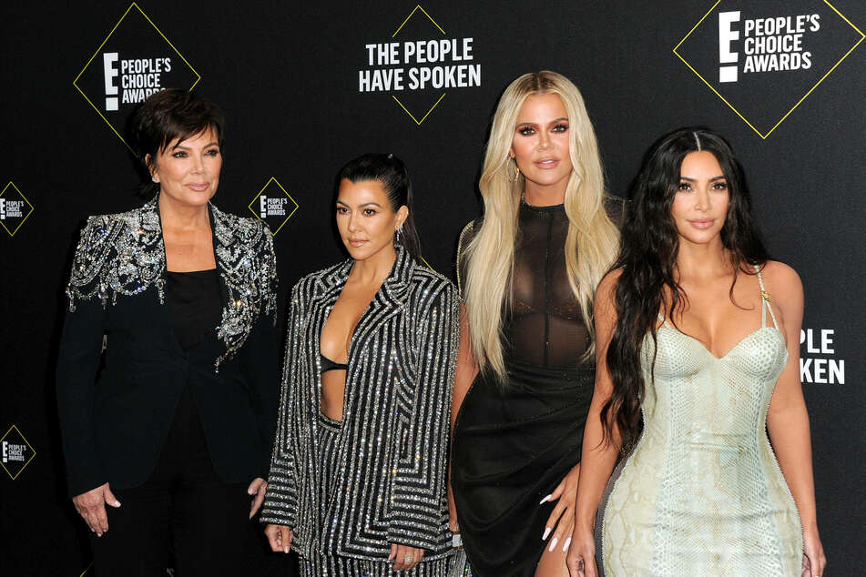 The Kardashians (from l. to r.): Kris Jenner, Kourtney Kardashian, Khloe Kardashian and Kim Kardashian.