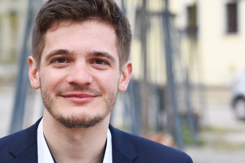 Alexander Geißler (31, Direktkandidat Wahlkreis 161, Mittelsachsen).