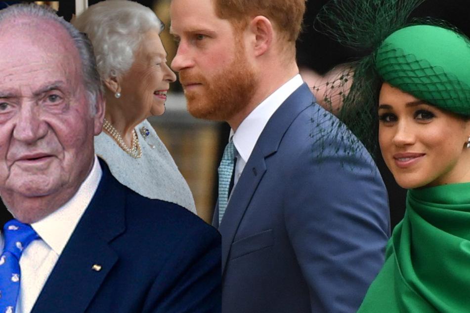 Megxit, Militärdienst, Flucht ins Exil: Das waren die besonderen Momente der Royals