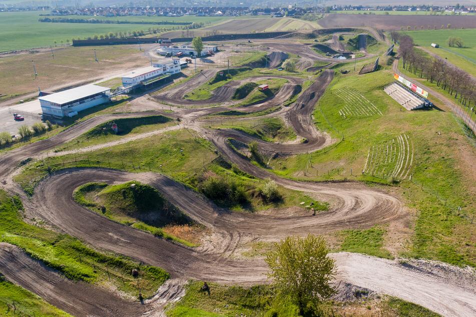 Die Motocross-Strecke in Teutschenthal (Sachsen-Anhalt). Hier sollte schon am 24. Mai der WM-Lauf stattfinden.