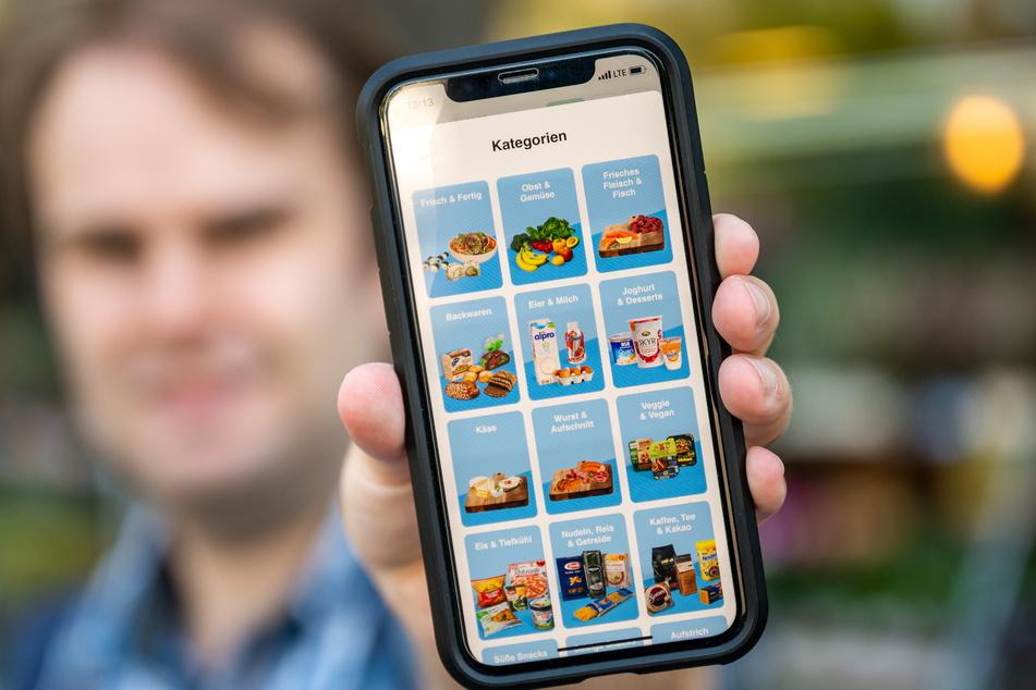 Über die App kann man rund 2400 Produkte aus 28 verschiedenen Kategorien auswählen.