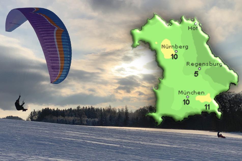 Temperaturumschwung! So warm wird es plötzlich in Alpennähe