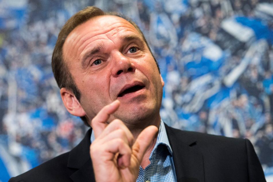 Vorstandschef Bernd Hoffmann steht beim HSV vor dem Aus.